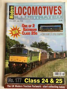 Modern Locomotives Illustrated N0.177 Classes 24 & 25s  free post