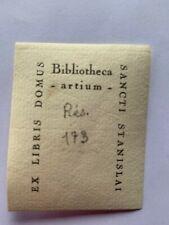 Ex-Libris Aix En Provence, A2727, 20è, 45 x 35 mm