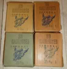 4 ancien paquet de cigarettes gauloise caporal n2