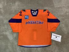 Lehigh Valley Phantoms Game Issued Retro Throwback Specialty AHL Jersey
