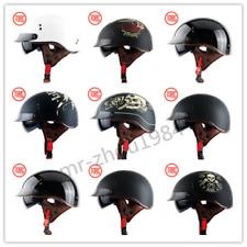 TORC T55 Motorcycle Helmet Retro Half Face Inner Sun Visor DOT