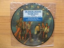 MICHAEL JACKSON / THE JACKSONS - VICTORY PICTURE DISC LP - ORIG USA 1984 ISSUE