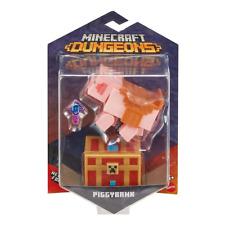 Minecraft Dungeons Piggybank Figure Mojang Video Game Collectible Mattel