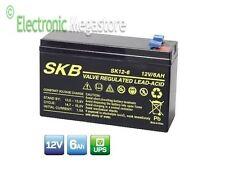 Batteria al piombo 12V 5Ah 6Ah ad alta corrente equivalente FIAMM 12FGH23s slim