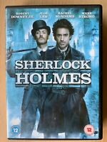 Sherlock Holmes DVD 2009 Guy Ritchie Detective Adventure W/Robert Downey Jr