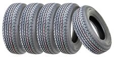 2 Premium Country Trailer Tire St 205 75r15 /8pr Load Range D W/scuff Guard