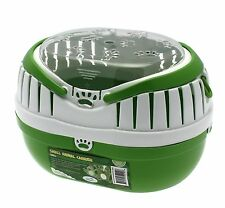 Happy Pet Small Animal Carrier Large Green Suitable for Guinea Pigs and Rats