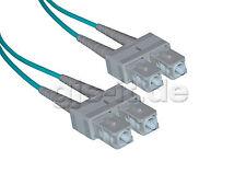 LWL Glasfaserkabel Patchkabel Fiber Optic SC-SC Duplex Multi 50/125µ OM3 100m