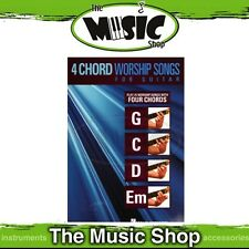 New 4 Chord Worship Songs for Guitar Music Book - G C D & Em Worship Songs