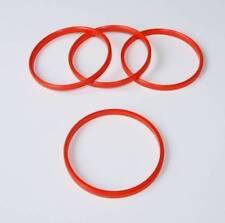 X4spigot anelli per 72mm TSW leghe per adattarsi a 66,6 mm MERCEDES CLK
