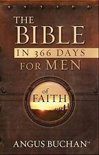 NEW The Bible in 366 Days for Men of Faith by Angus Buchan