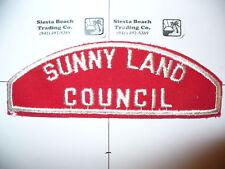 RWS Sunny Land Council,Red & White Strip,OA 219, 552,FL