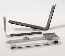 FLASH BRACKETS, VARIOUS SIZES AND STYLES, SET OF 4
