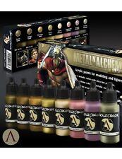 Scala 75 METALLO N' Alchemy GOLDEN SERIES COLORI VERNICE ACRILICA Set 8 bottiglie