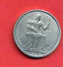 (ES 31) ESSAI  COLONIES FRANÇAISE 5 FRANCS NOUVELLE CALÉDONIE 1952 (RARE)