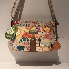 Lily Bloom Libby Cristina Crossbody Spring Showers NWT