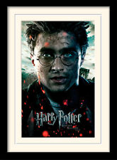 Harry Potter Deathly Hallows Part 2 Harry Framed & Mounted Print