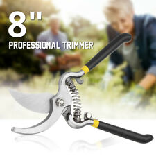 8'' Pro Garden Trimmer Branch Cutting Pruning Shears Clippers Bypass