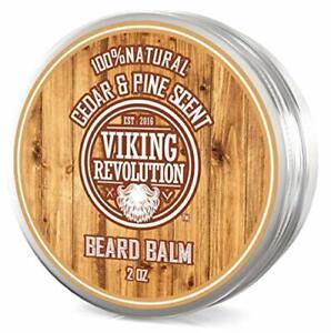 Beard Balm Cedar & Pine Scent w/Argan & Jojoba Oils - Styles, Strengthens &...
