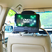 New TFY Car Headrest MOUNT for 10 inch Swivel & Flip Style Portable DVD Player