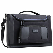 Slide Projector Carrying Bag with Customizable Dividers & Shoulder Strap