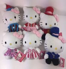 "Hello Kitty Big Top Circus 6"" Set Of 6 Plush Toy (FR-LIC)"