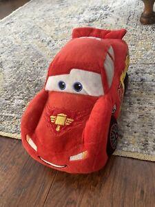 "12"" Gund LIGHTNING McQUEEN Plush Disney Pixar CARS 2 Stuffed Animal RED Movie!"