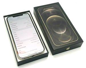 LIKE NEW - Apple iPhone 12 Pro Max - 128GB - Gold (Unlocked) + Apple Warranty