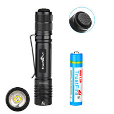 Trustfire TR-L1 385LM Mini Tac LED Flashlight 10440/AAA EDC Torch + AAA Battery