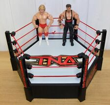 TNA/Impact Wrestling - 6 Sided wrestling ring w/ Kevin Nash & Jeff Jarrett