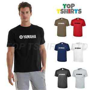 Men's YAMAHA Racing T-Shirt MotoGP Motorcycle Motorbike Biker Valentino Rossi
