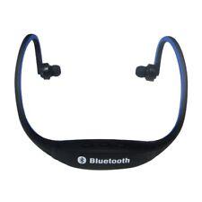 Auricular inalambrico Bluetooth de deporte para el telefono celular PC Azul U1O8