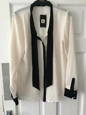 Bnwt Oasis Tie Blouse Size 12