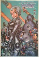 """Nine Volt"" complete 1st print series w/ variant #1 issue"