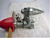 ENYA 49X R/C ENGINE, MODEL 6101 SCARCE ORIGINAL MUFFLER, MADE IN JAPAN VINTAGE