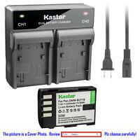 Kastar Battery Rapid Dual Charger for Panasonic DMW-BLF19e & Panasonic DC-GH5