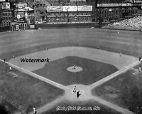 MLB 1940 Cincinnati Reds Crosley Field Game Action 8 X 10 Photo  Picture