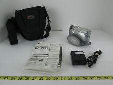 JVC Digital Video Camera GR-D201 GR-D201U Camcorder w SD Card Bag Charger Manual