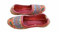 Women Shoes Indian Handmade Traditional Boho Ballerinas Jutties UK 3 EU 35.5