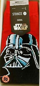DARTH VADER SOCKS One Pair BRAND NEW Stance X Topps Star Wars Empire Strike Back