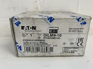 EATON DILM9-10 Contactor 4kW/400V, AC-Operated