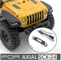 LED Headlight Bright Front Light Lamp for 1/24 SCX24 Jeep RC Car Upgrade Parts