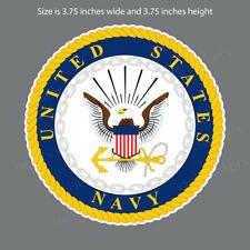 Nv-4010 United States Navy Emblem Military Window Decal Sticker