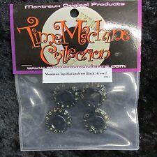 Montreux Time Machine black bonnet knobs 8705