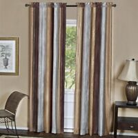 Achim Ompn84ch06 Ombre Panel 50 X 84 Inches Chocolate Blue