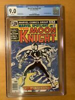 Marvel Spotlight #28 Moon Knight CGC 9.0 White Pages - Just Arrived From CGC