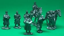 RBG Minis: 28mm metal American Civil War - Union staff officers in greatcoats