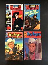 GREAT AMERICAN WESTERN #4 6 ROY ROGERS #3 5 LASH LARUE Comic Books BullWhip King