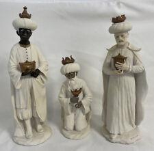"Very Rare! Giuseppe Armani Nativity Magi ~ The Three Kings ~ 13"" Figurines"