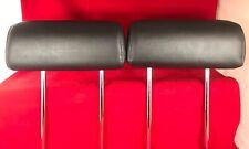 💥 Sale 09-15 Mazda CX-9 CX9 Third Row Left Right Headrest Set Black Leather OEM